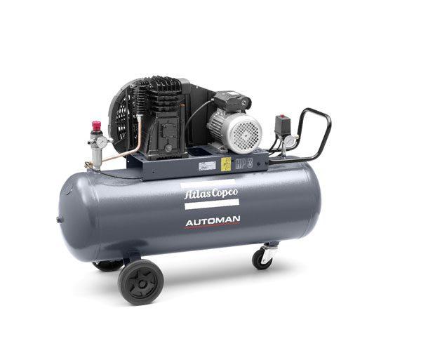 Atlas Copco - Tradesman Compressor - Air and Lift Gear