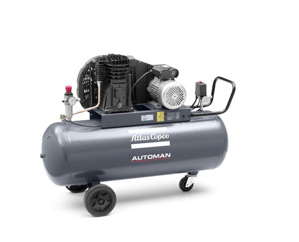 Atlas Copco – Compressor – 3.0 HP Automan – AB31E 100L
