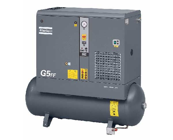 Atlas Copco – Screw Compressor – 5 KW – G5FF-10