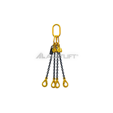 Chain Sling G80 – 4 Leg (Quad Leg) – Self Lock